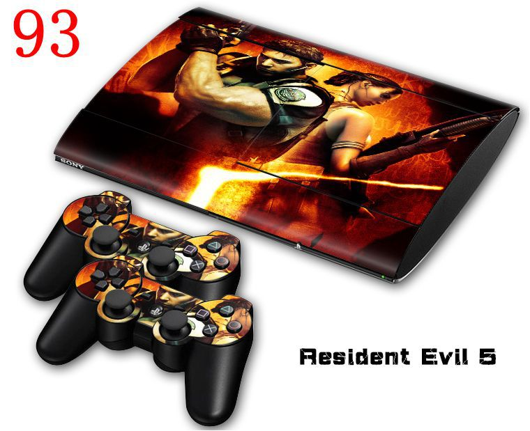 OSTSTICKER Wholesale Decal Sticker For PS3 Slim 4000 Console Controller For Play station 3