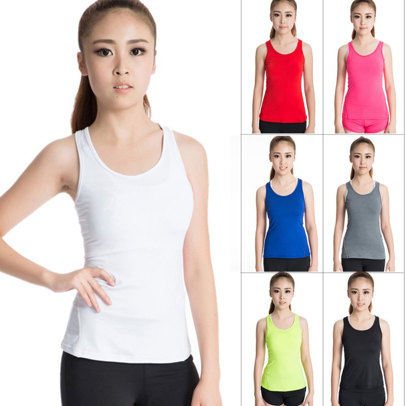 Quick Drying Women Sports Vest Tights Running Yoga font b Fitness b font Vest Shirts Tee