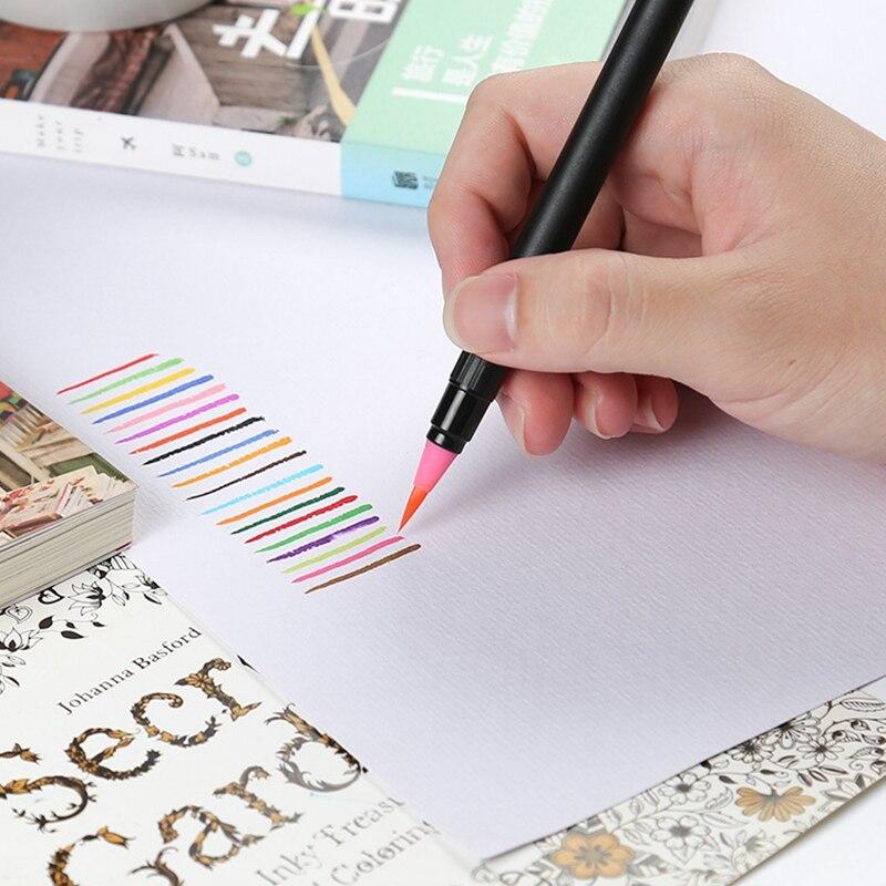 para a Mão-pintura e Coloração Artistas da Fonte da Arte