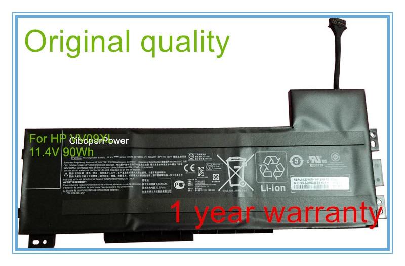 New 11.4V 82Wh Original Battery for 15 17 G3 808398-2C1, 808452-001, HSTNN-DB7D, VV09XL 90wh new laptop battery for hp zbook 15 g3 17 g3 808398 2c1 808452 001 hstnn db7d vv09xl