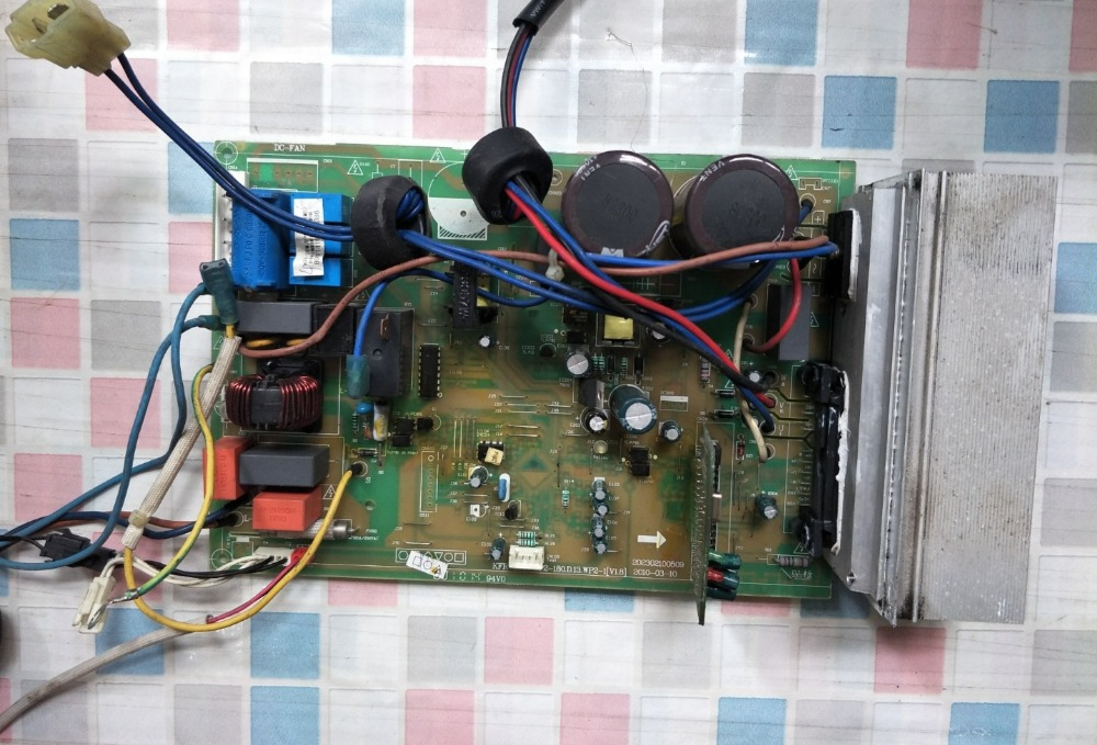 KFR-35W/BP2-180.D.13.WP2-1[V1.8] Good Working Tested