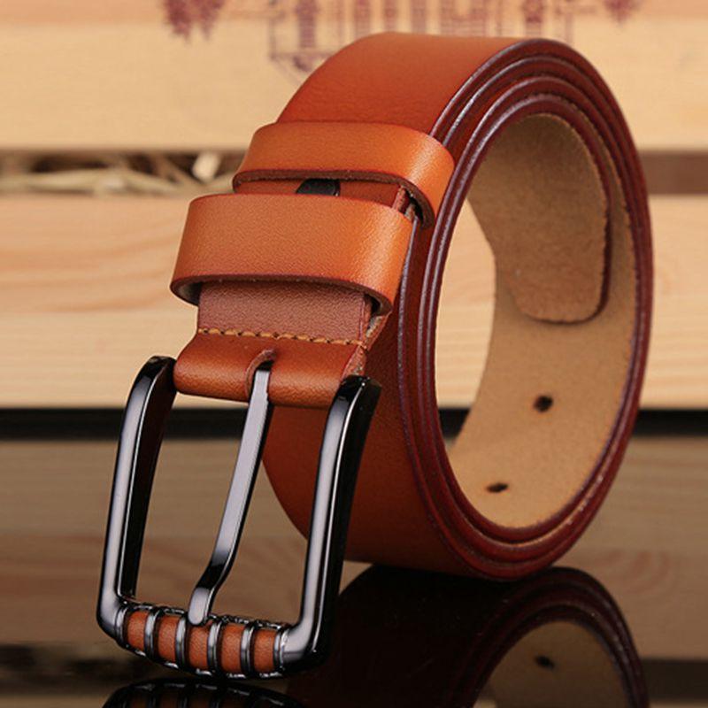 2018 Marque de haute qualité ceinture rétro ceintures pour hommes casual  male véritable cuir taille de sangle homme ceinture cowboy ceinture jeans b5b4d09bfc0