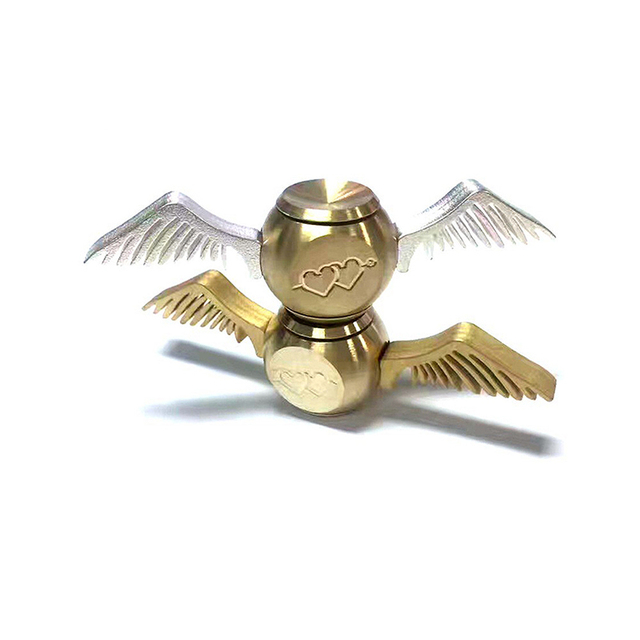 Alloy Spiners Antistress Hand Spinners Golden Snitch Harry Potter