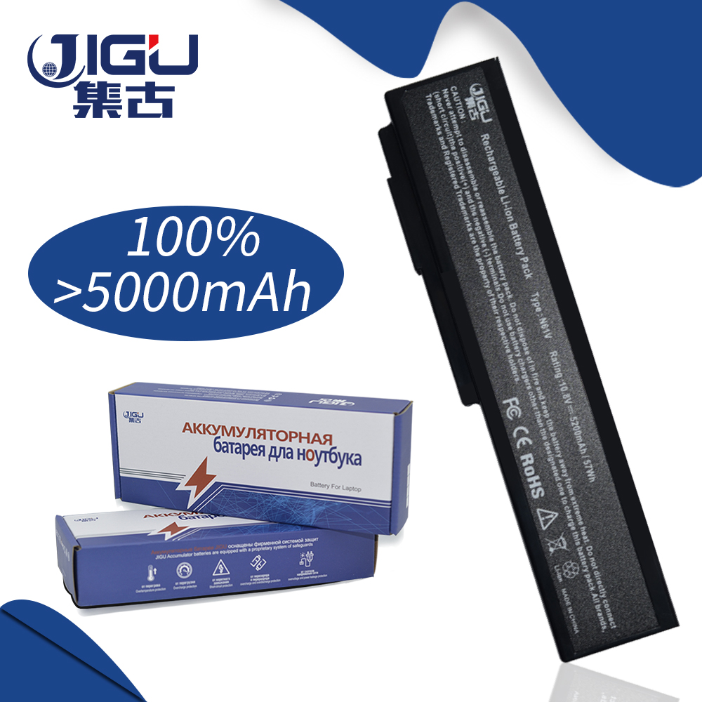 JIGU 6Cells Laptop Battery For Asus N61 N61J N61Jq N61V N61Vg N61Ja N61JV N53 M50 M50s N53S A32-M50 N61 X64 A33-M50 jigu 5200mah laptop battery for asus m50 m60 n43 n53 x55 x57 a32 h36 g50 g51 g60 l50 n61 series a32 m50 a32 n61 a32 x64 a33 m50
