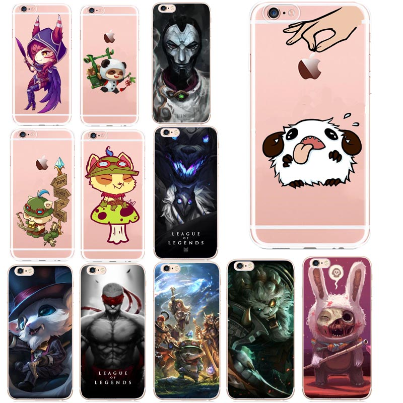 League of Legends Teemo Hard Cover <font><b>Case</b></font> For Apple <font><b>iPhone</b></font> XS Max 8 <font><b>7</b></font> 6 6S <font><b>Plus</b></font> 8pius 5 5S <font><b>SEX</b></font> 10 XR Coque Shell image