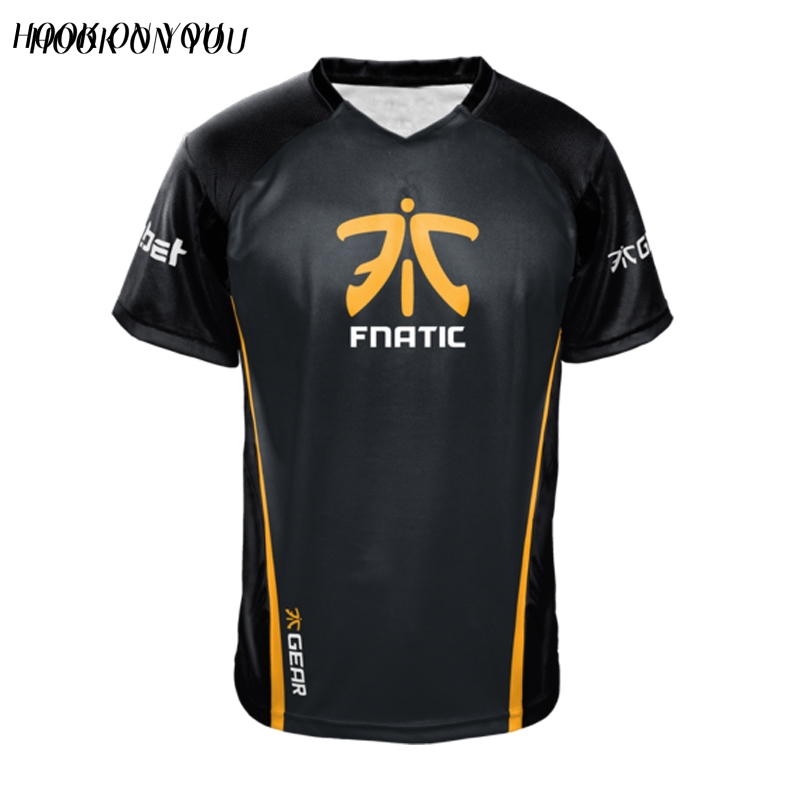 official meet stable quality US $16.89 35% OFF|Dota2 CSGO LOL Champion FN Game Team Fnatic Jersey T  Shirt O Neck casual Tees Game Athletics men women Fnatic T Shirt-in  T-Shirts ...
