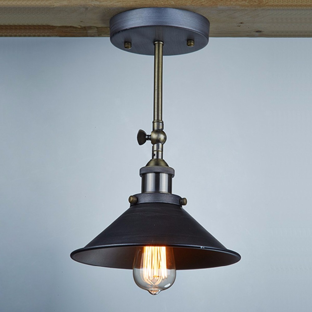 Loft Style American Vintage Wall Lamp Indoor Lighting Bedside Lamps ...