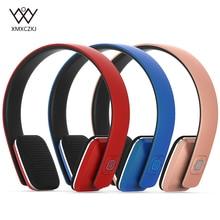 цена на XMXCZKJ  Bluetooth Wireless Headphones with Microphone/NFC Comfortable On Ear HIFI Bluetooth v4.0 Headset for PC Mobile phone