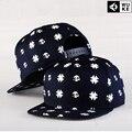 Европейский американский стиль череп головкой бейсбол DJ спорт покрышкой плоские широкими полями печать шапки OEM шляпы оптовая продажа шляпа