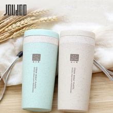 JOUDOO Thermos Cup Double layer Vacuum Flask Insulated Tumbler Thermocup mug Thermal Bottle garrafa termica 16.8 * 7cm 35