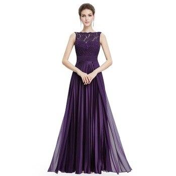 030835178d309 Artı Boyutu Abiye Uzun Dantel A-line Seksi Elbiseler Zarif Ucuz Kolsuz  Kat-Uzunluk Parti Abiye giyim Düğün için