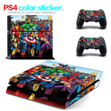 Hot Sale for PS4 Skin 1 Set Body Skins For Play station 4 Sticker Decal Cover + 2 Controller Sticker ps4 accessories