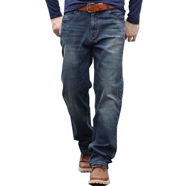 f0d64f74 Brand Big Men Baggy Jeans Teen Boys Hip Hop Jeans Long Loose Skateboard  Relaxed Fit Jeans Mens Harem Pants Plus Size 28-44
