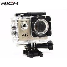Best Buy RICH New Action camera X3B Digital HD 4K WiFi 2.0 inch screen Video Helmet photo Cam under water 30M waterproof Mini camera
