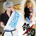 JP Anime Gintama Cosplay Costume Halloween Dress Adults Sakata Gintoki Cosplay Costumesfor Sale