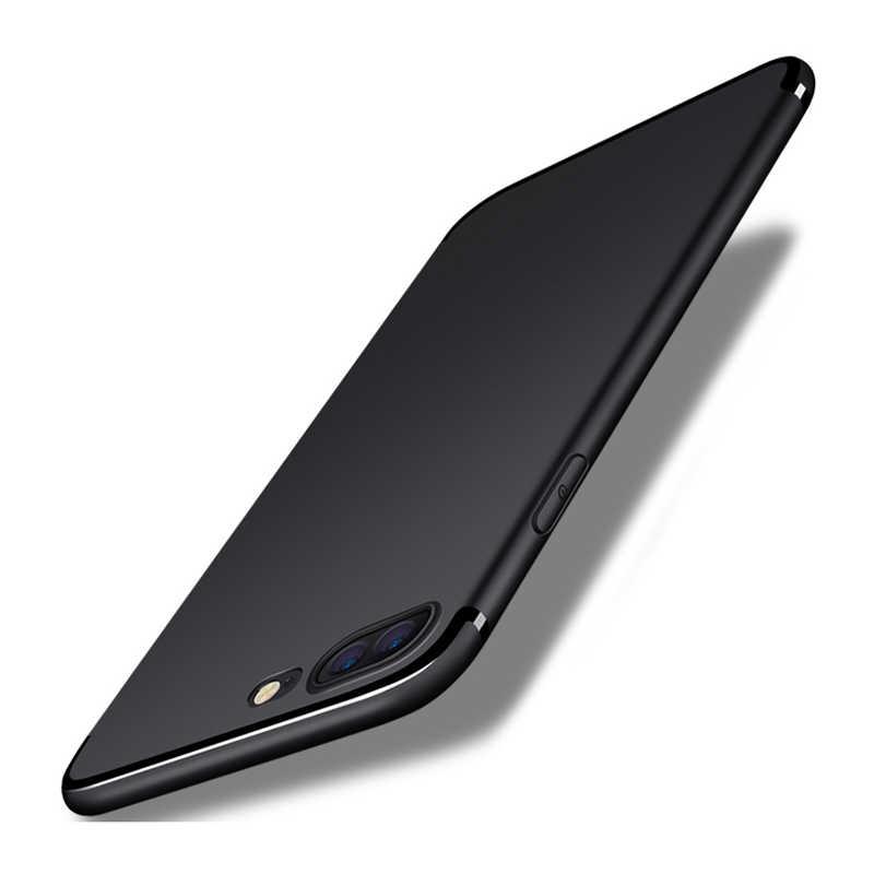 Arc-en-ciel licorne cellule noir silicone housse de téléphone pour iPhone 8 7 6 6S Plus X XS XR XSMAX Coque Coque en silicone Z639