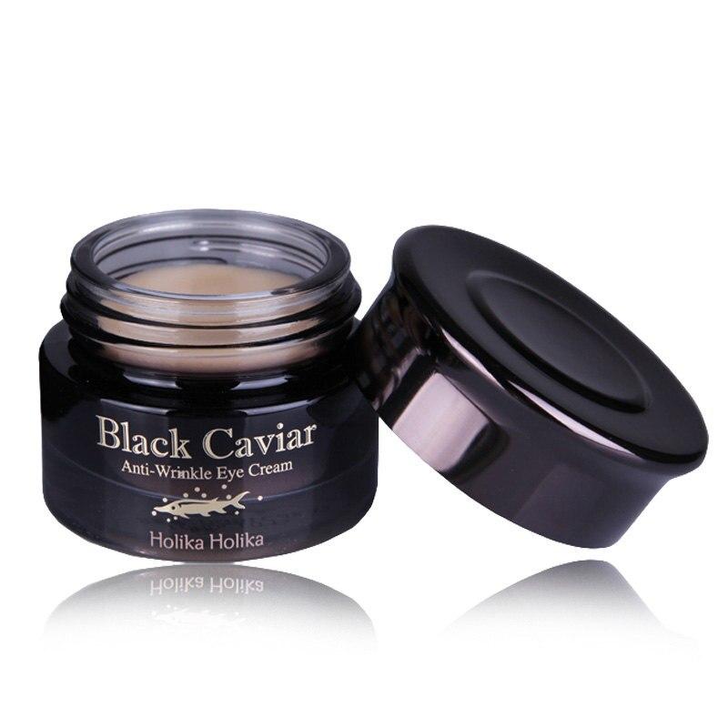 Znalezione obrazy dla zapytania Holika Holika Black Caviar Anti-Wrinkle Eye
