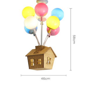 Image 4 - Plafonnier suspendu en forme de ballon coloré, design nordique, luminaire décoratif dintérieur, idéal pour la chambre dun enfant