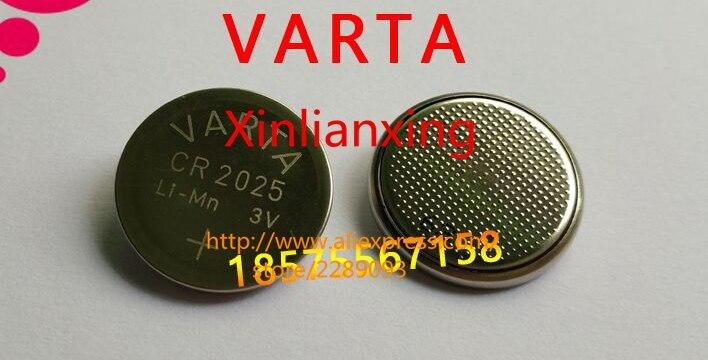 Free Shipping! 5pcs CR2025 Lithium <font><b>Battery</b></font> <font><b>2025</b></font> 3V Remote Control <font><b>Battery</b></font>