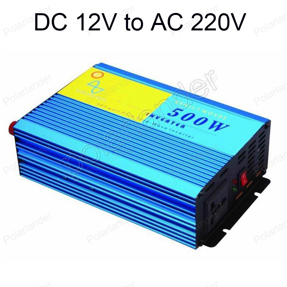 Power Inverter Car converter Pure Sine Wave 500W Inverter DC 12V to AC 220V best selling 50HZ 3 5kw 220v car inverter 3500w3500watt pure sine wave power inverter home car car power inverter dc 12v to ac 220v 3500w