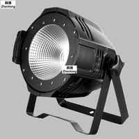 LED Par Light COB 100W 200W High Power Aluminium DJ DMX Led Beam Wash Strobe Effect