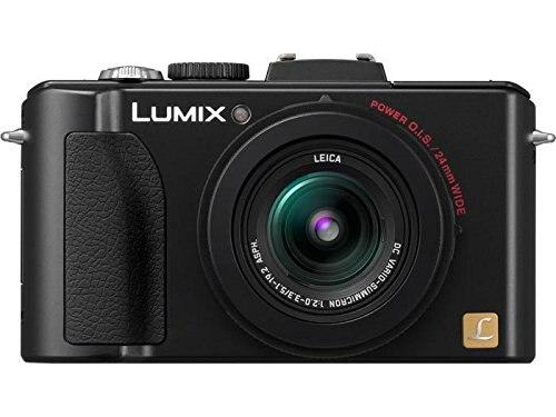 Utilisé, appareil photo numérique Panasonic Lumix DMC-LX5 10.1 MP avec Zoom stabilisé à l'image optique 3.8x et écran LCD 3.0 pouces-noir