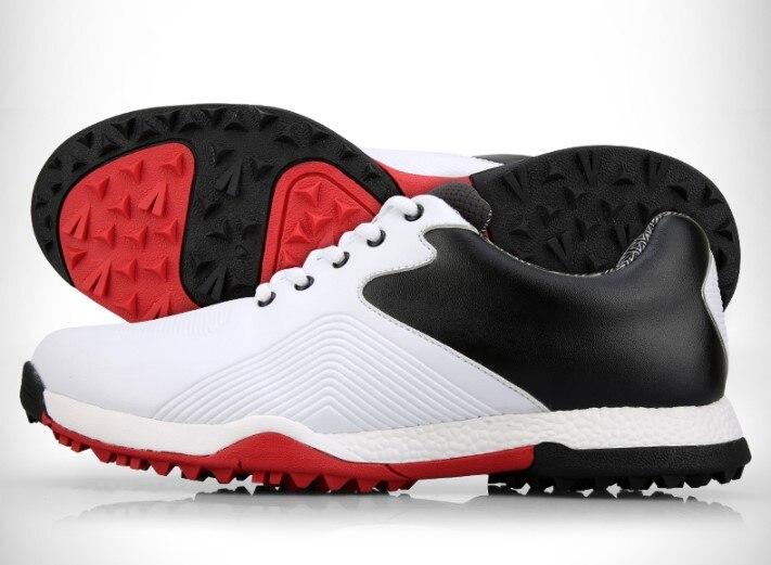 Sapatos à Prova Anti-skid de Alta Sapatos de Golfe Pgm de Golfe Hot! Autênticos Homens Água Qualidade Esporte Masculino Tênis Respirável Sapatos Chaussures d'