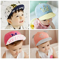 2016 Summer Baby Sun Hats Fine Cute Toddlers Mesh Caps for Children Boys Girls Designer Spring Infant Cotton Hat For Boys 1Piece