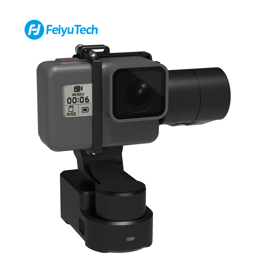 Image 3 - FeiyuTech WG2X Wearable Mountable Action Camera Gimbal Splash proof Stabilizer for GoPro Hero 7 6 5 4  Sony RX0 Action Camera-in Handheld Gimbals from Consumer Electronics