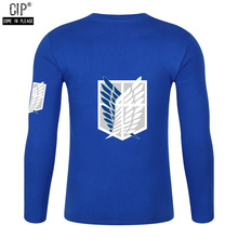Attack On Titan Long sleeved T Shirt (6 colors)