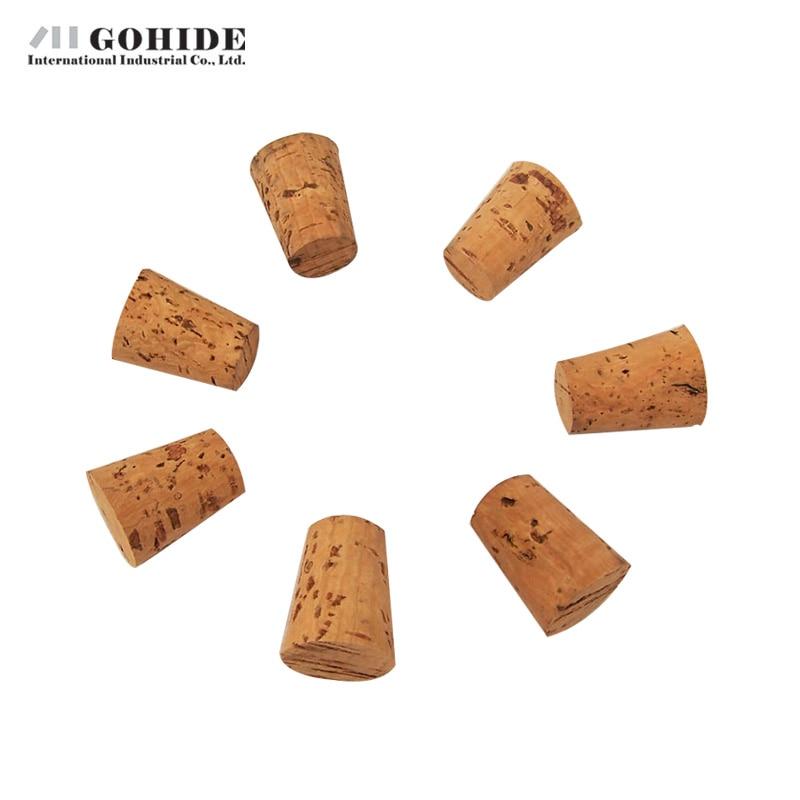 GUHD 10gab / partija Dabīgā koka korķa vīna aizbāžņa pudeles - Virtuve, ēdināšana un bārs - Foto 2