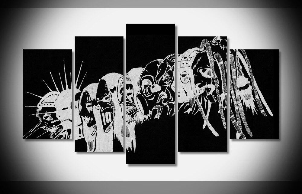 4127 musique Heavy Metal slipknot bande Corey Taylor Affiche Encadrée Galerie wrap art reproduction accueil mur décor mur photo