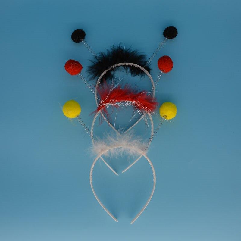 Using Alien Bees At Weddings: NºKids Children Fly Ladybug Bee Ant Headband Antenna Bug