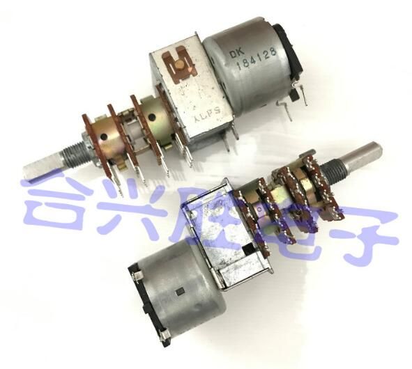 [VK]JAPAN ALPS remote control motor potentiometer four B50K 6030R 16 feet handle 20MM b50kx4 switch 90118 associated with stepping potentiometer b50k 40 points