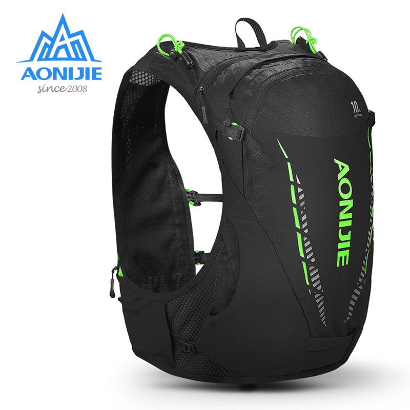 AONIJIE C948 10L Lightweight Hydration Backpack Pack Rucksack Bag Water Bladder Hiking Running Marathon Race Cycling TrailRunner