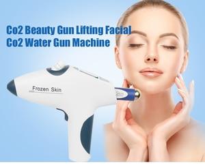 Image 1 - Della pelle congelata co2 bellezza pistola senza ago mesoterapia ringiovanimento della pelle sbiancante anti rughe viso dispositivo di trattamento di bellezza