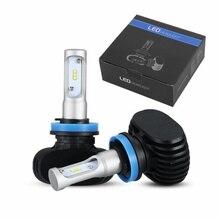 2 PCS/Lot Universel De Voiture Phare Kit LED H4 HB3 9005 HB4 9006 H11 H7 H8 50 W/set 8000lm CSP Ampoule Auto Lampe Frontale