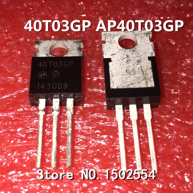 5PCS/LOT 40T03GP AP40T03GP TO-220 Power board commonly used