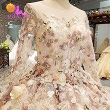 Vestidos de novia AIJINGYU en Turquía vestidos de lujo económicos únicos tul con espalda transparente vestido de talla grande espalda baja boda