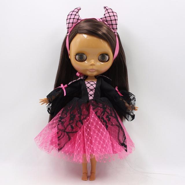 Neo Blythe Doll Halloween Clothes Vampire Dress