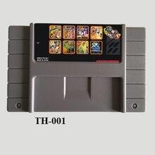 Супер игра Collecton 8 в 1 NTSC Версия 16 бит серая игровая карта для США игровой плеер