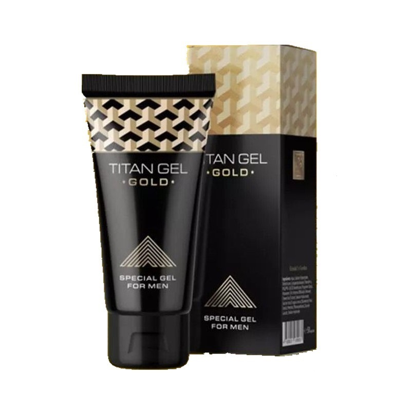 2 PC New TITAN GEL Gold Male Big Enhancement Enlargement Cream 50g Thickening Growth Time Delay Men Products