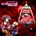 Love Live! Nico Yazawa Little Devil Demon SR Awakening Uniform Fancy Dress Cosplay Costume Custom Made