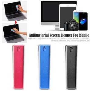 Portable Mobile Computer Tablet PC Screen Cleaner Kit Cleaner Spray Square