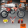 Customized Graphics & Backgrounds Custom Decals 3M Motorcross Stickers Kits For KTM SX SXF EXC 125 250 300 350 450 525 530