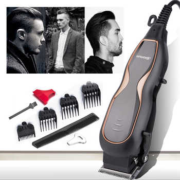 BaoRun Professional Hair Clippers Mute Ultra Power Electric Hair Trimmer Barber Salon Men Hair Cutting Machine with Cord 220V - DISCOUNT ITEM  45% OFF All Category