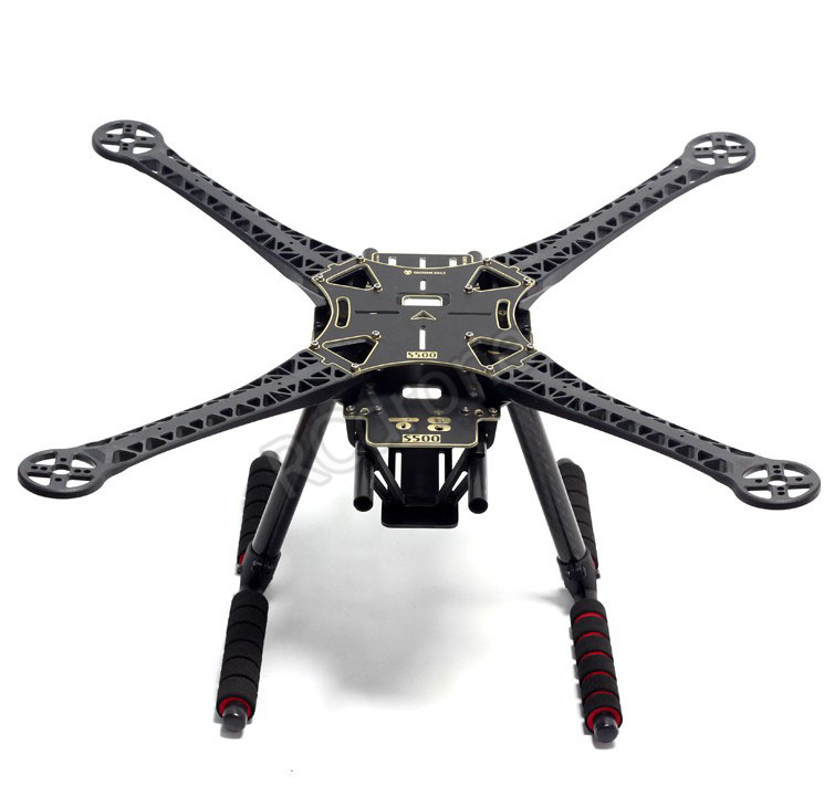 Free Shipping S500 PCB Frame Kit 500mm PCB Board Carbon Fiber Landing Gear F FPV Quadcopter Parts