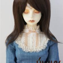 JD046 SD кукольный парик 1/3 кукольный парик парики унисекс природа BJD волосы 8-9 дюймовая фарфоровая кукла волосы винил кукла парик