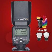YONGNUO YN600EX-RT 2.4G Wireless HSS 1/8000 s Master Sistema de Radio de destello falsh Trigger Speedlite de Destello para Canon