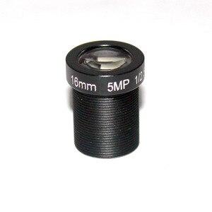 """Image 3 - HD 5mp 16mm objektiv cctv objektiv IR Bord 1/2. 5 """"M12x0.5 view 50 mt für Sicherheit IP kamera"""